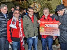 Spendenübergabe BV Mühlwiesen