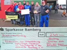 Spendenübergabe DJK Don Bosco Bamberg
