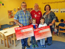 Spendenübergabe FC Bayern München-Fanclub Alt Bamberg