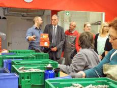 Spendenübergabe Stadtwerke Mitarbeiter