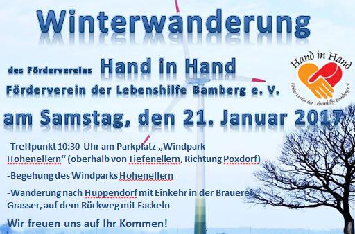 Winterwanderung Förderverein