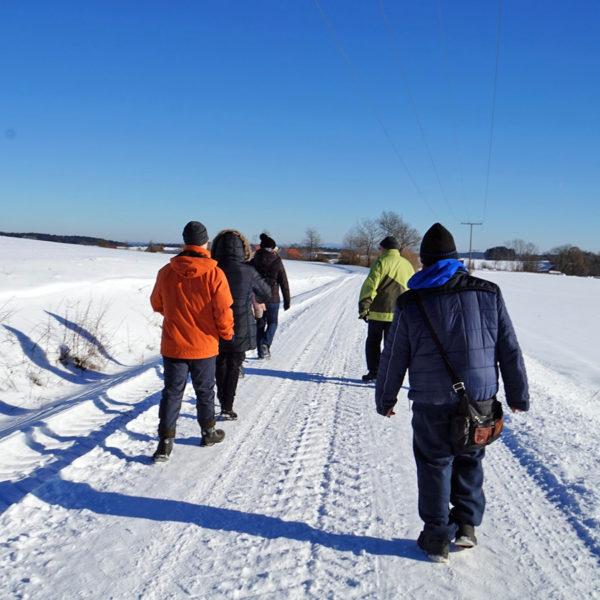 Winterwanderung 2017 - Der Förderverein auf der Suche nach neuer Energie und Unterstützung