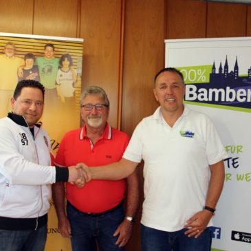 Kooperation mit 100% Bamberg