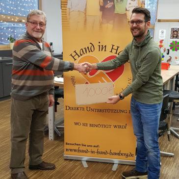 Großzügige Unterstützung durch Tobias Brech