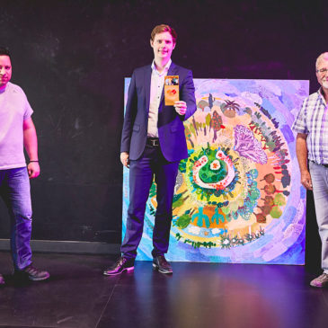 Förderverein-Vorstand trifft den 2. Bürgermeister der Stadt Bamberg Jonas Glüsenkamp